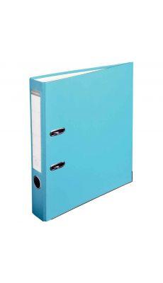 Classeur à levier A4 dos 50 mm - Bleu clair