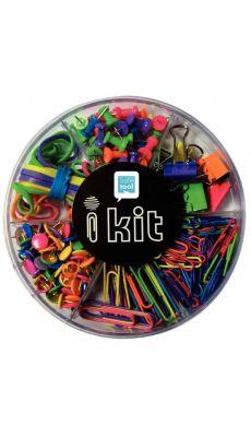 LOCAU - B8000.06 - Boîte d'articles de fixation composé de : - 80 attaches-lettres 28mm - 25 attaches-lettres - 150 punaises ...