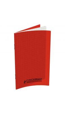 Conquerant classique - 400013591 - Carnet piqûre petit carreaux - 9x14 cm - 96 Pages