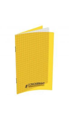 Conquerant classique - 400013592 - Carnet piqûre petit carreaux -11x17 cm - 96 Pages