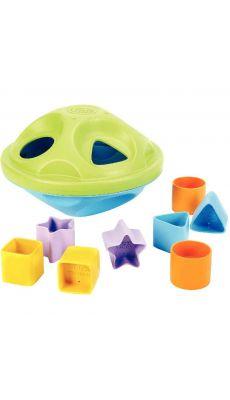 Toupie des formes + 8 formes en plastique