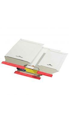 Pochettes d'expédition blanc 210x265x-30 - Paquet de 20