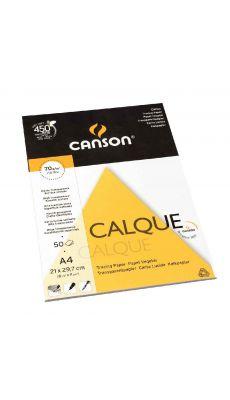Canson - 572434 - Papier calque A4 70g - Bloc de 70