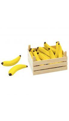 Cagette de 10 bananes en bois