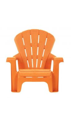 Chaise en PVC 17cm orange