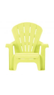 Chaise en PVC 17cm verte