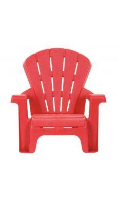 Chaise PVC 17cm rouge