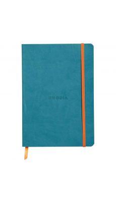 RHODIA - Carnet RHODIARAMA, format A5 160 pages, ligné - Coloris Turquoise