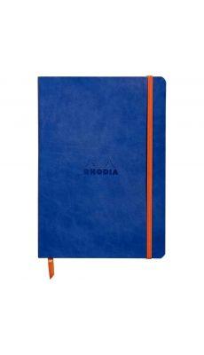 RHODIA - Carnet RHODIARAMA, format A5 160 pages, ligné - Coloris Saphir