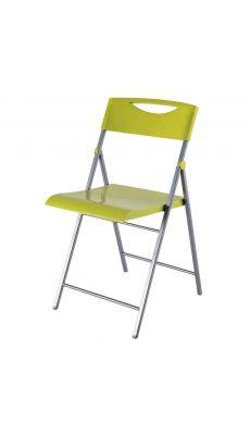 ALBA - CPSMILE V - Chaise pliante Smile laquée vert