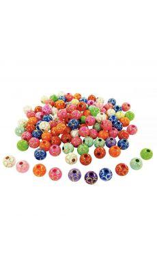 Perles pointillés or - Pot d'environ 400