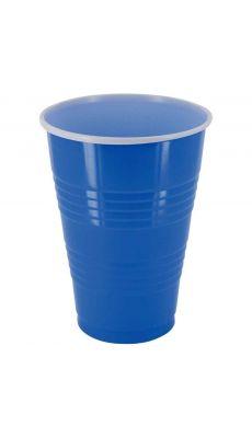 Gobelets pong 40cl bleu  - Lot de 25