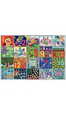 Maxi puzzle de 20 pièces, les chiffres de 1 à 20