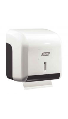 Distributeur papier hygiénique mixte ABS blanc