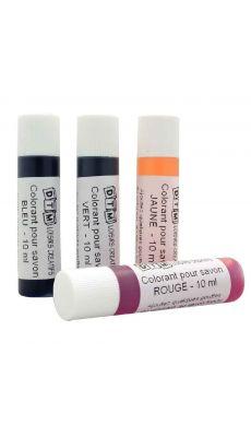 Colorants liquides pour savon - Lot de 4