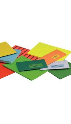 Boîte de 400 étiquettes format 105 x 148.5mm bleu vif
