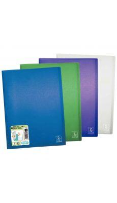 Protège-documents en polypropylène 2ND LIFE 40 pochettes, 80 vues