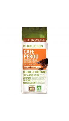 Café moulu Pérou Bio - Paquet de 250g