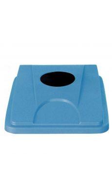 Couvercle tri sélectif 60/80 litres bleu