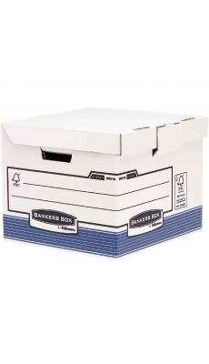 Bankers box - 0021601 - Flash cube bleu - Paquet de 10