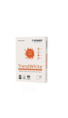 STEINBEIS - Ramette papier A4 TrendWhite 100% recyclé 80g - Blanc