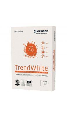STEINBEIS - Ramette papier A3 TrendWhite 100% recyclé 80g - Blanc