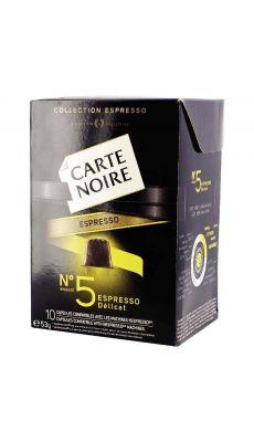 Carte noire Nespresso n°5 - Boite 10 capsules