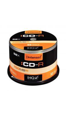 Intenso - 000159 - CD-R vierge 700 Mo - Spindle 50 et vitesse 52 X - Lot de 50