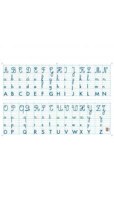 Bouchut grandremy - 3260 - Panneau alphabet effaçable à sec 80x120 cm
