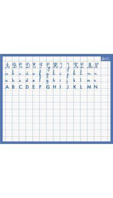 Bouchut grandremy - 008685 - Ardoise effaçable à sec alphabet / seyes