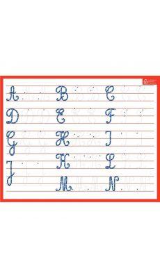 Bouchut grandremy - 010350 - Ardoise effaçable à sec majuscules / cursives