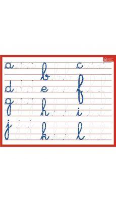 Bouchut grandremy - 010367 - Ardoise effaçable à sec minuscules / cursives