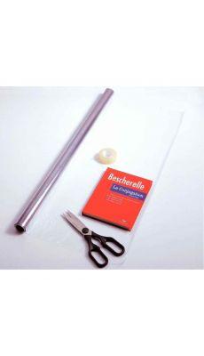 Elba - 400 052 800 - Rouleau couvre livre cristal PVC - 10x0,7 m
