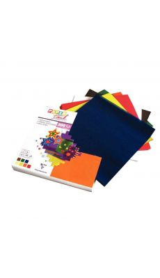MAILDOR - 825/1515 - Papier vitrail 15 x 15 cm couleurs assorties - Paquet de 500 feuilles