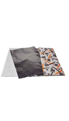 PEBEO - 039000 - Feuilles de métal à repousser en aluminium, format 37x25 cm - Pochette de 10