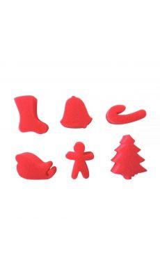 Eponges Noël - Lot de 6