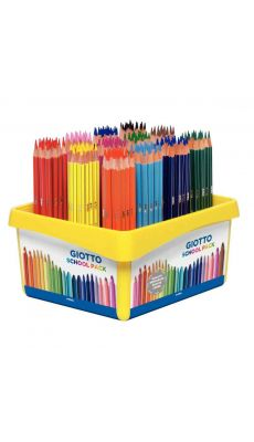 OMYACOLOR - 523400 - Crayons de couleur Stilnovo assortis - Classpack de 192