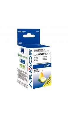 ARMOR - K20336 - Cartouche compatible Brother LC1240 Jaune