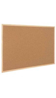 Bi-office - SB141001010 - Tableau liège avec cadre en bois 90x120cm