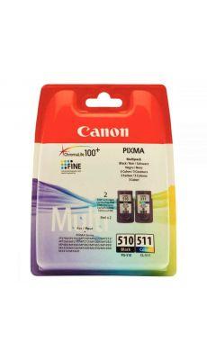 Canon - 2970B010 - Cartouche couleur PG 510 / CL 511
