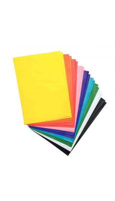 Feuilles de papier de soie noir, 50x70 cm - Paquet de 26