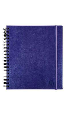 Exacompta - 188827E - Agenda lady métal 18w violet