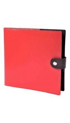 Agenda sienna 16x16 rouge