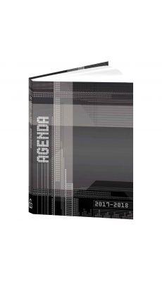 Bouchut grandremy - 3001020 - Agenda de poche techno gris