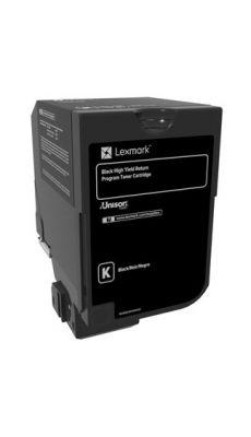 LEXMARK - 74C2HK0 - Toner Lexmark 74C2HK0 noir