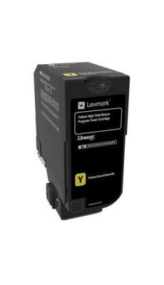 LEXMARK - 74C2HY0 - Toner Lexmark 74C2HY0 jaune