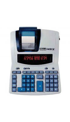 Ibico -1491X - Calculatrice imprimante de bureau professionnelle - 14 chiffres