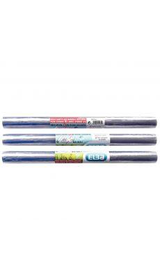 Elba - 400 036 248 - Rouleau couvre livre cristal PVC qualité supérieure - 40cm x 5,5m