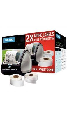 Imprimante d'étiquettes LabelWriter450 Turbo + 2 rouleaux supplémentaires LW