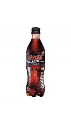 Bouteilles 50cl coca zéro - Pack de 12